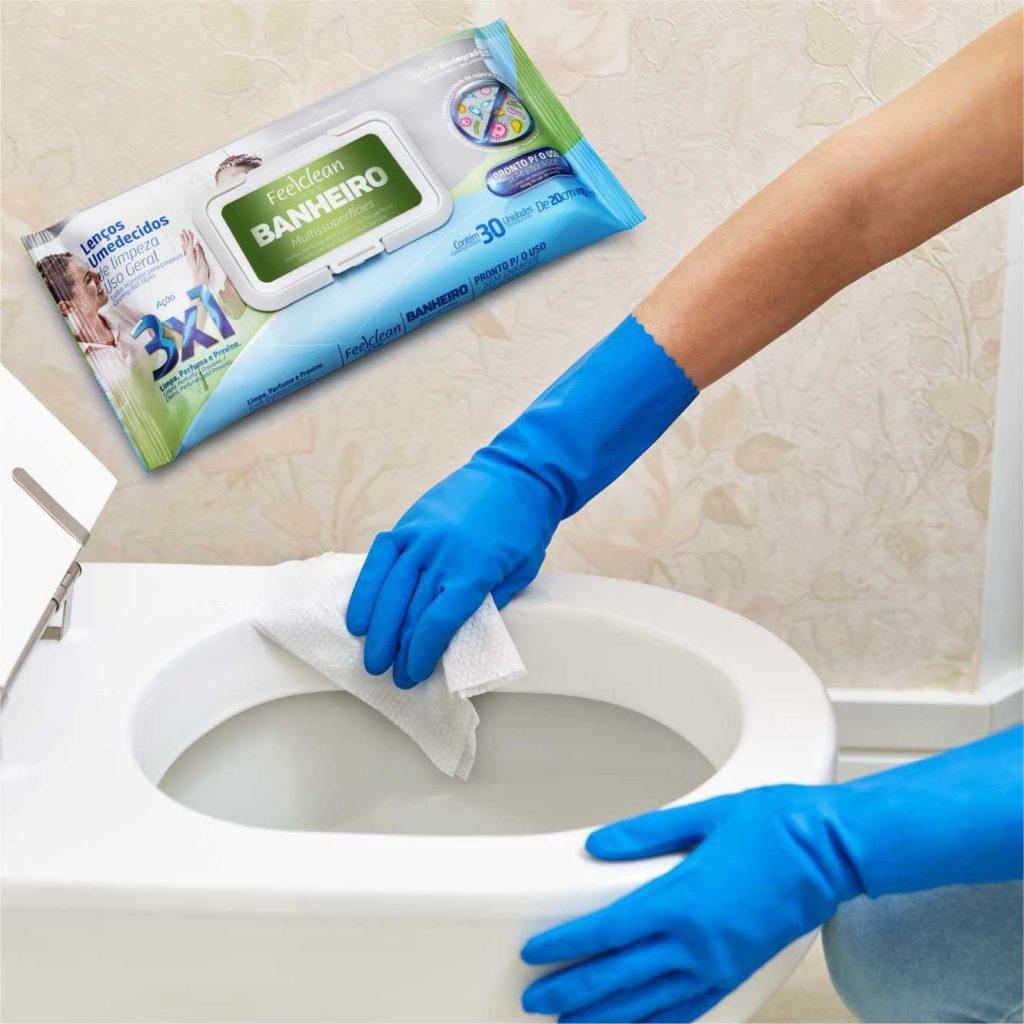 8 motivos para levar lenço umedecido na bagagem: limpeza do banheiro