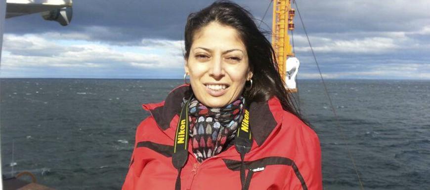 A jornalista Gislene Bastos responde como é viajar para a Antártica
