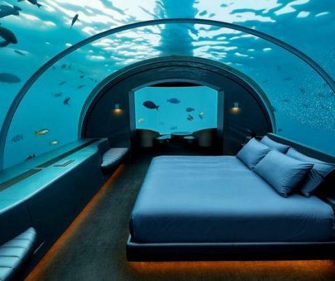 Nas Maldivas tem este que integra a lista dos 10 hotéis mais incríveis do mundo