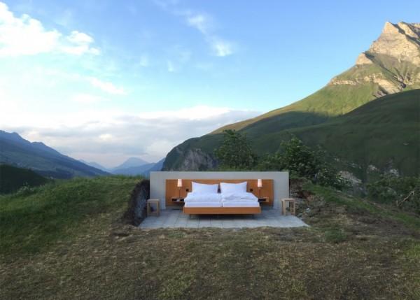 Dormir diante da natureza é experiência deste que é um dos 10 hotéis mais incríveis do mundo