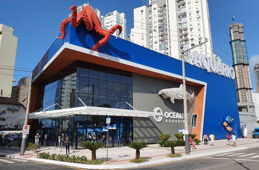 Aquário de Balneário Camboriú foi recém-inaugurado