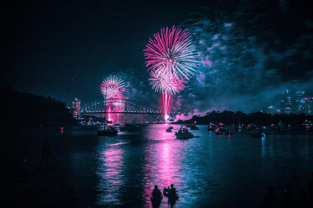 Sydney realiza a primeira festa de réveillon do mundo