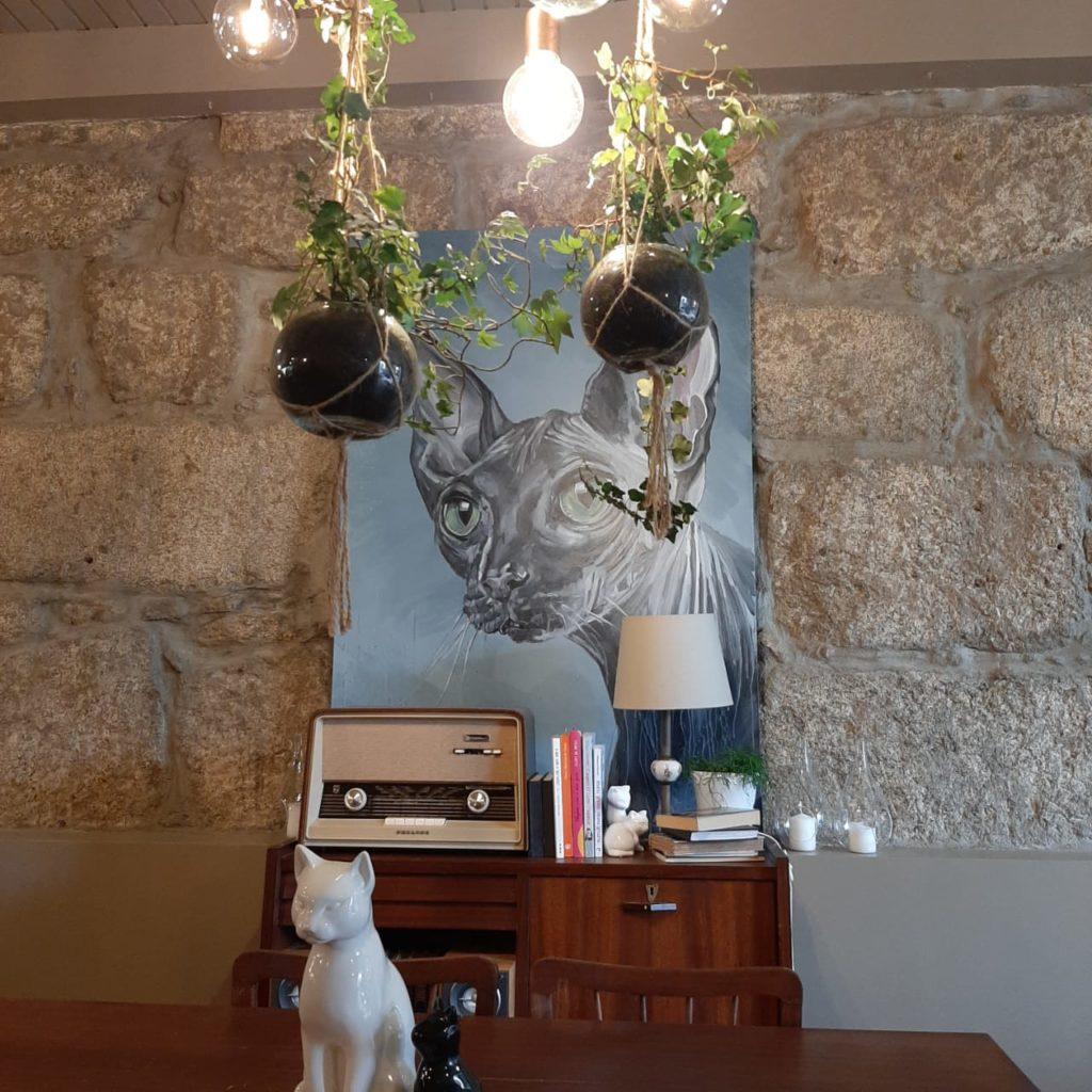 Dica de viagem em Portugal: café com gatos