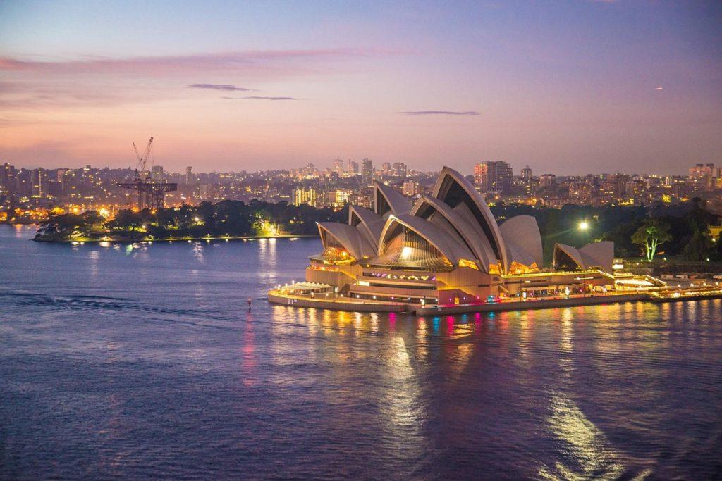 Grande marco da arquitetura de todos os tempos: Sydney Opera House