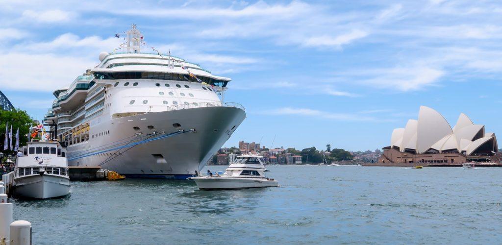Porto de Sydney entre o que fazer em Sydney na Austrália