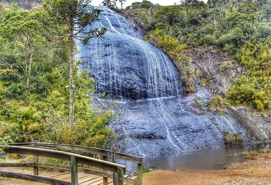 Cachoeiras e belas paisagens estão na lista do que fazer no inverno em Santa Catarina