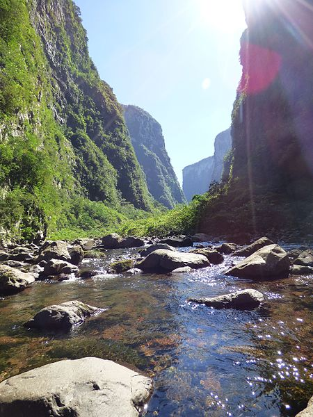 Trilha do Rio do Boi entre as melhores trilhas de Santa Catarina