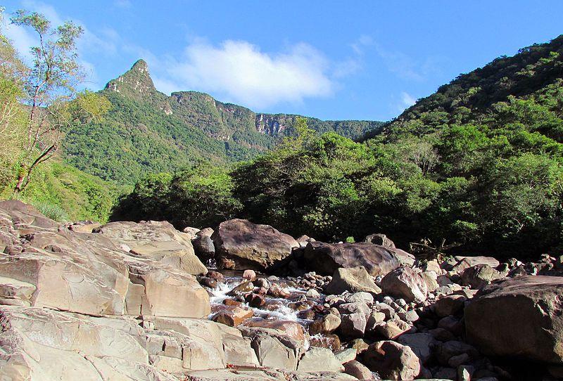 A região dos cânions está repleta de trilhas em Santa Catarina.