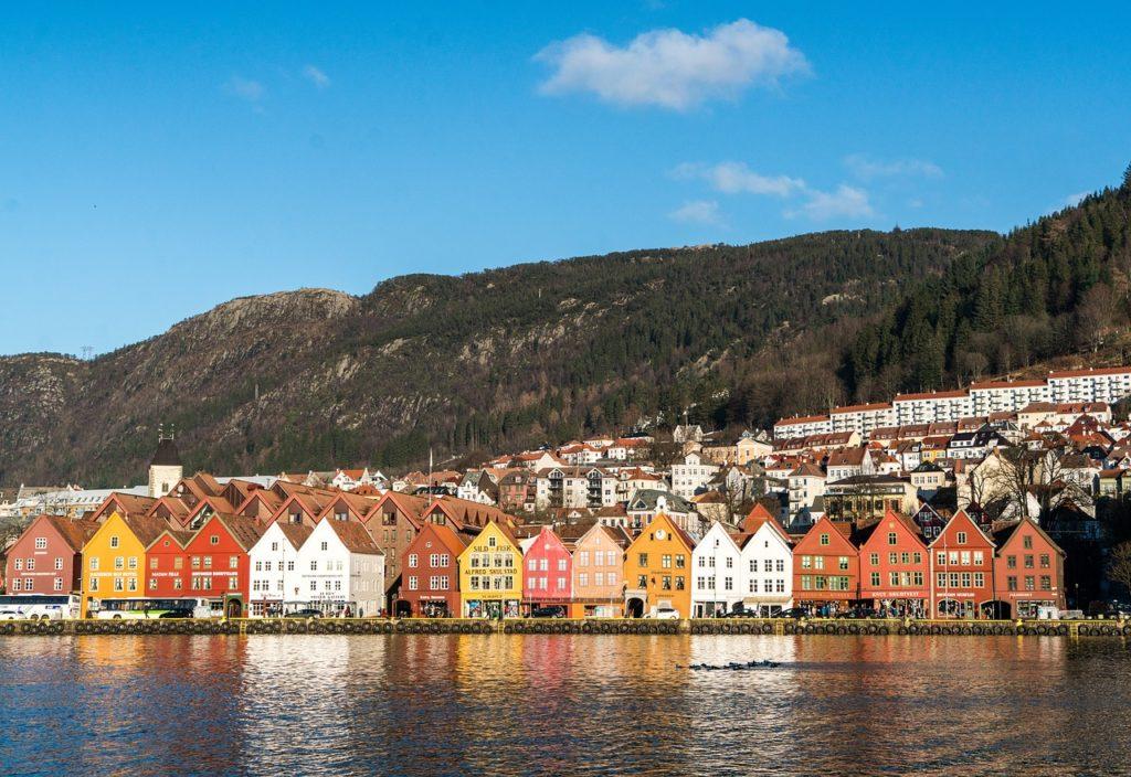A Disney também se inspirou em Bergen, na Noruega