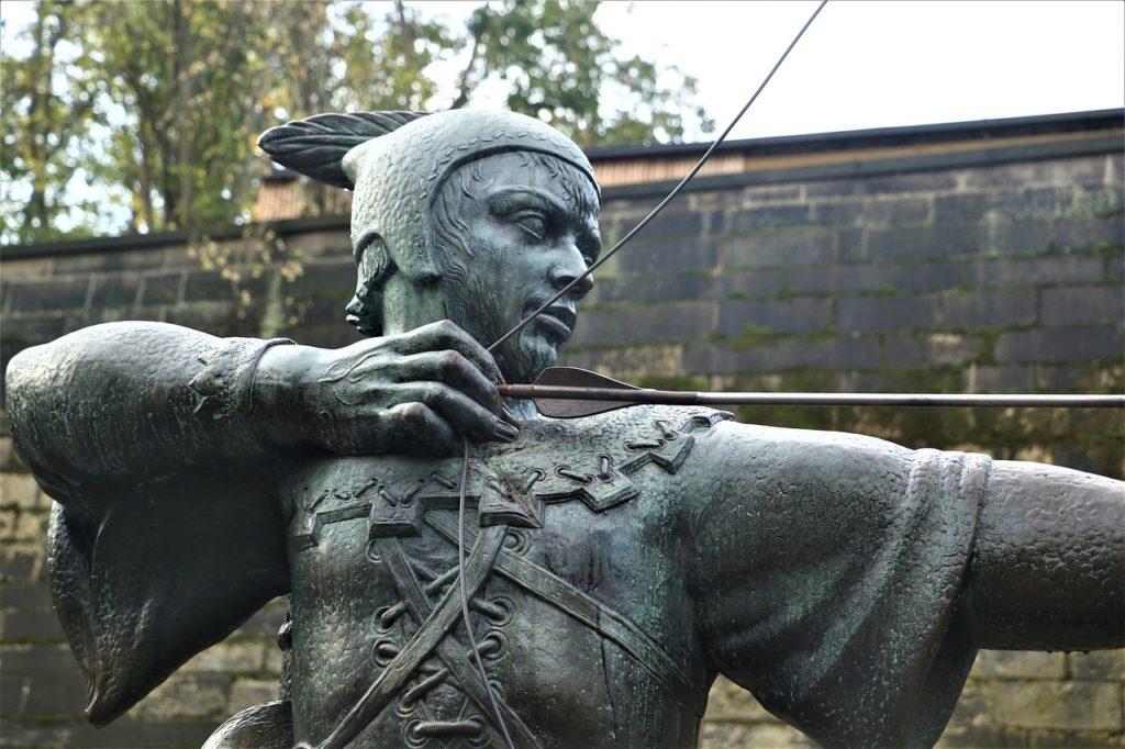 Robin Hood e Nottingham também foram inspiração da Disney