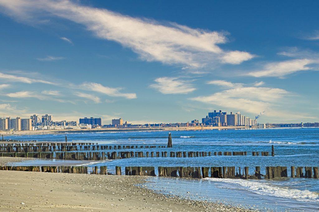 Rockaway é uma das praias de Nova York que fica no Queens