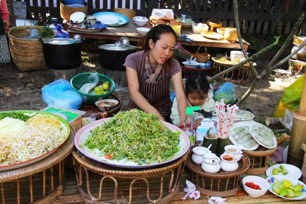 Pechinchar é um hábito, você pode fazer se viajar ao Laos