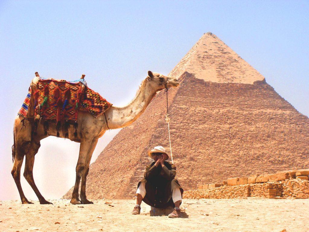 Dos 7 países que possuem pirâmides, o Egito é o mais conhecido