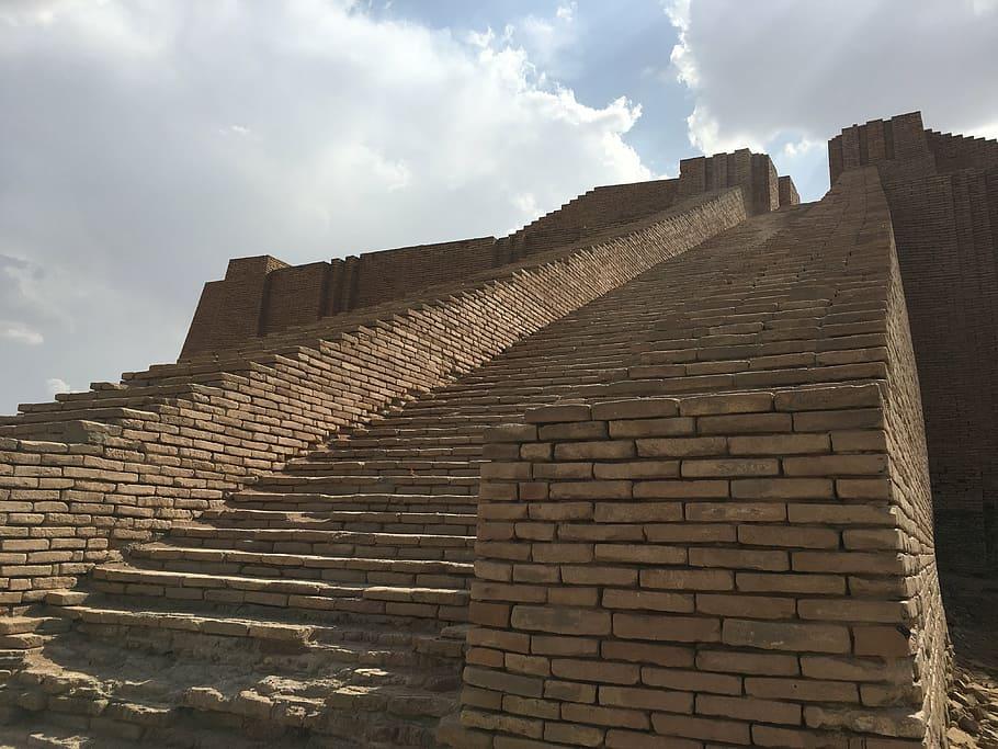 No Iraque também há pirâmide