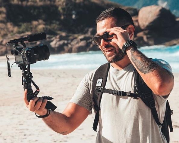 Criador de conteúdo sobre viagens, Marcos Vaz é famoso com suas dicas