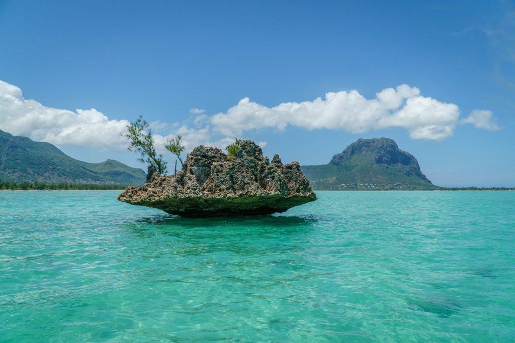 Ilhas Maurício são um arquipélago próximo à Africa
