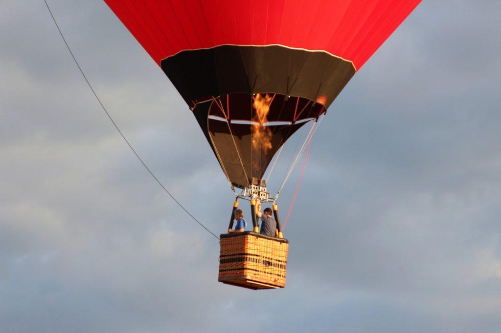 Boituva está entre os lugares para passeios de balão