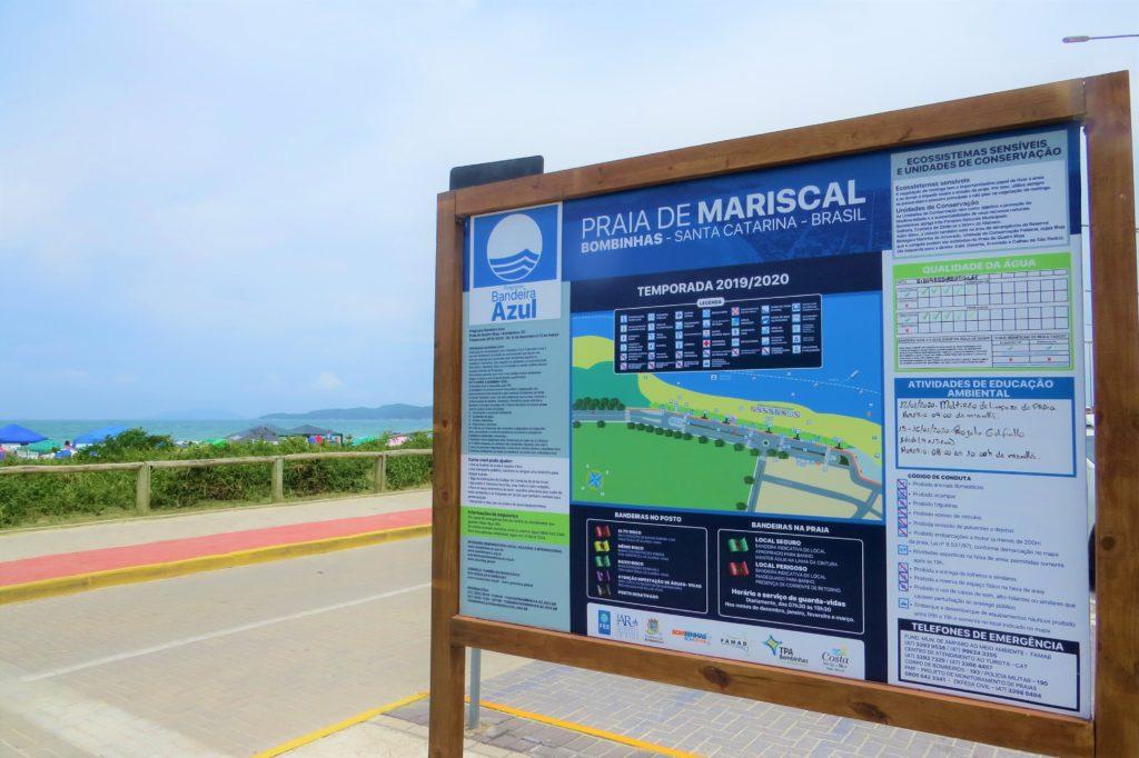 Mariscal está entre as praias bandeira azul de Bombinhas.
