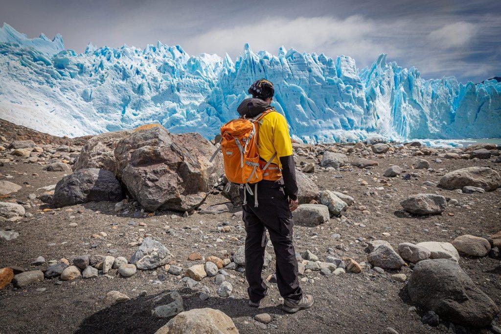 A Patagônia e seus glaciares são exemplo de roteiros para viagens que ficarão na memória do viajante