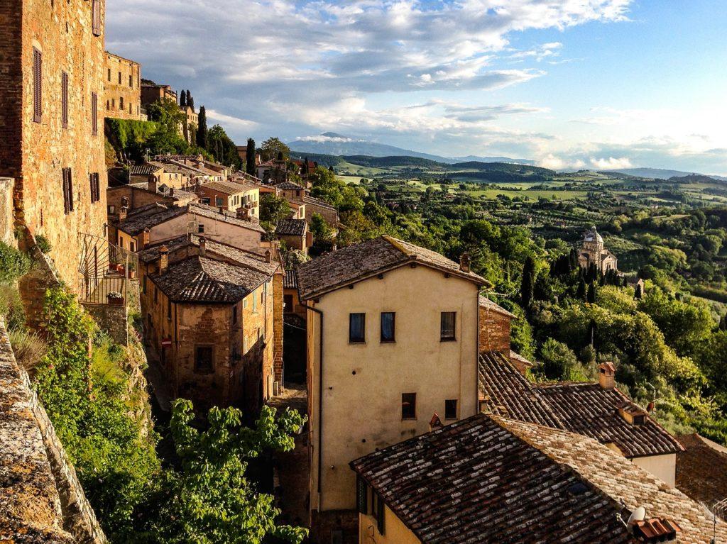 As paisagens da Toscana estão em várias histórias filmadas e são filmes que inspiram viagens pelo mundo