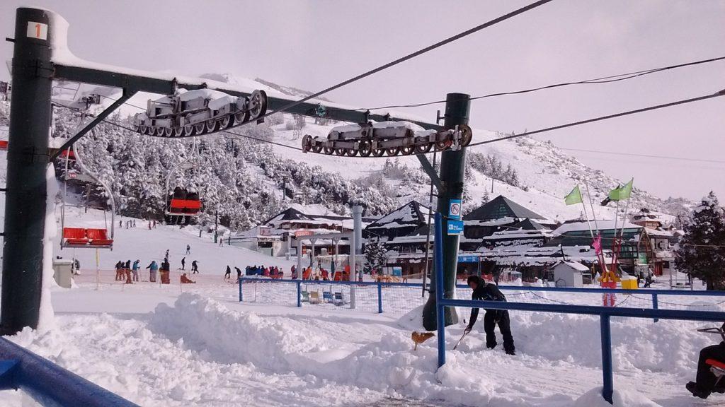 No roteiro de 1 dia em Bariloche está visitar um cerro e suas estações de esqui