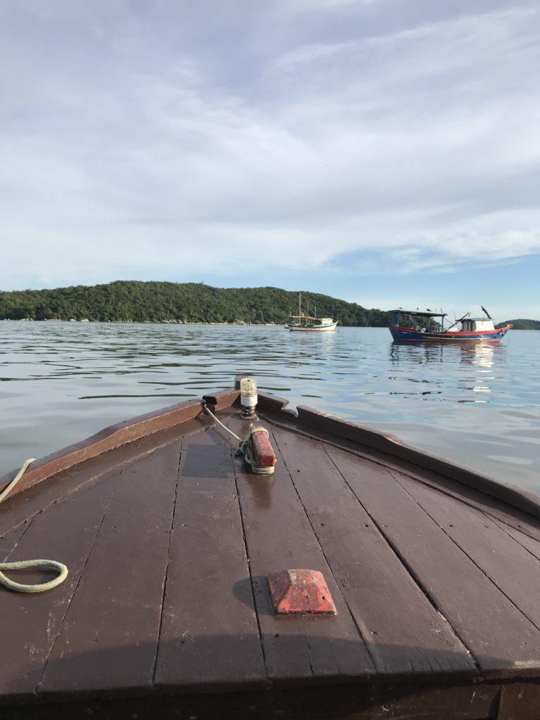 Porto Belo ganhou esse nome pelas águas calmas da baía