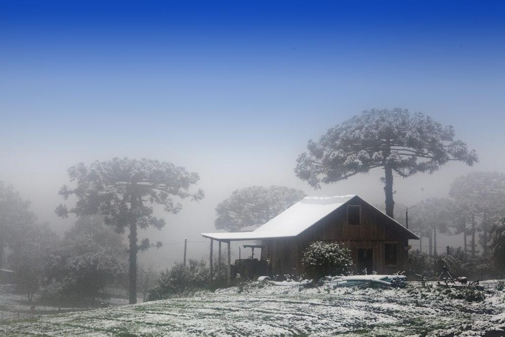 Qual o lugar que neva no Brasil: serra gaúcha