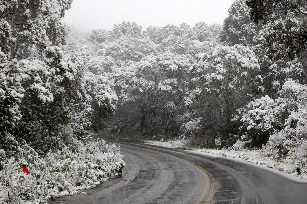 Já houve anos com volume histórico de neve. E Santa Catarina sempre entra na lista de qual o lugar que neva no Brasil