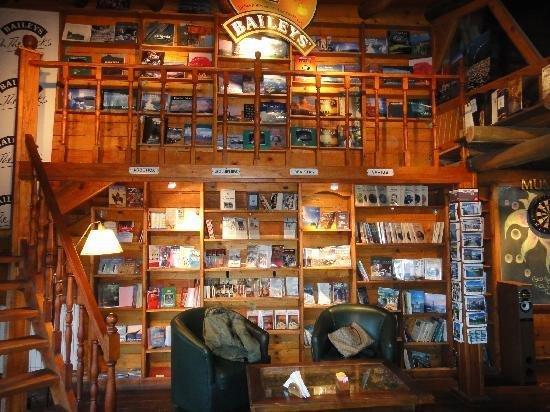 A livraria-café é uma das atrações de El Calafate na Argentina