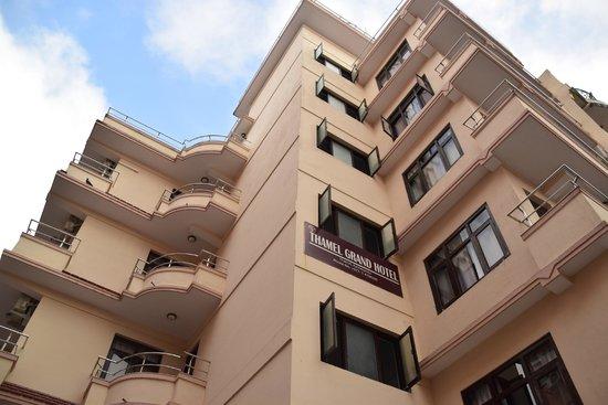 O hotel onde a modelo Naiara Alves se hospedou em Kathmandu
