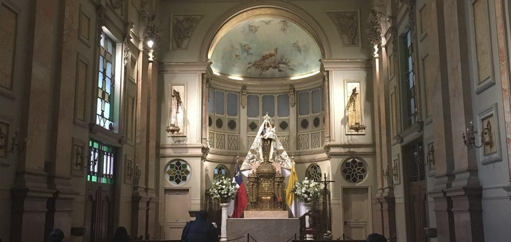 Visite os prédios históricos e igrejas. O Chile tem muito o que ser apreciado