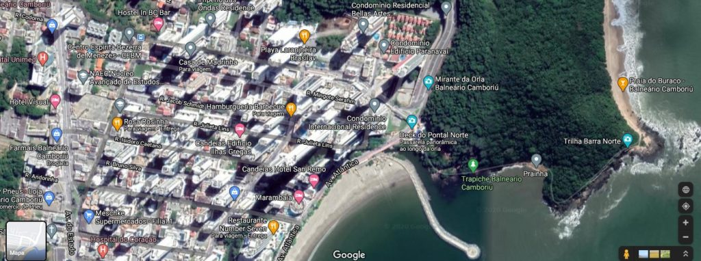 A Barra Norte vem ganhando força e se tornando outra região turística de Balneário Camboriú