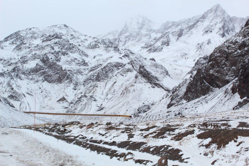 A temporada de neve no Chile vai de junho a setembro, podendo se estender ou se antecipar, dependendo do clima