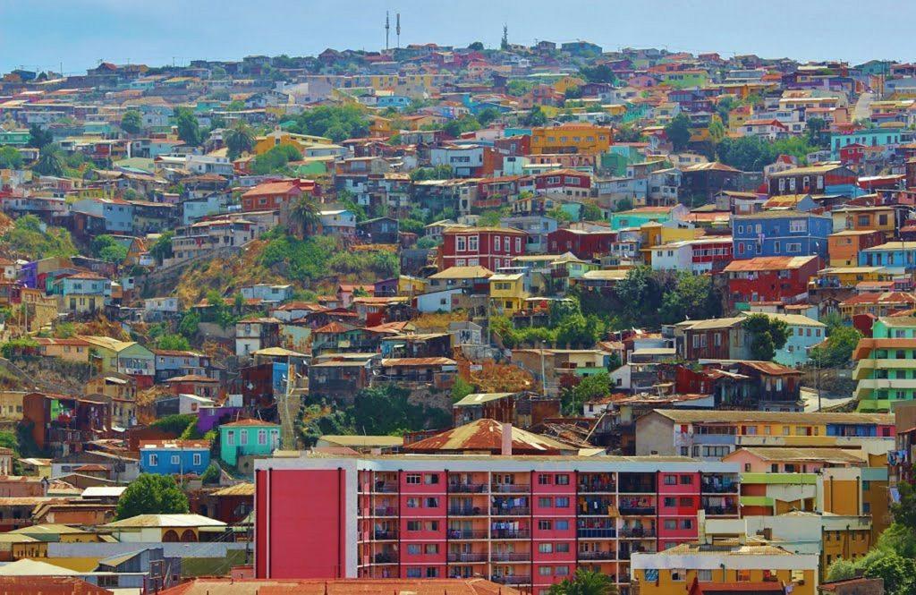 Valparaíso é vizinha de Viña Del Mar e também está na lista de principais atrativos da região de Santiago