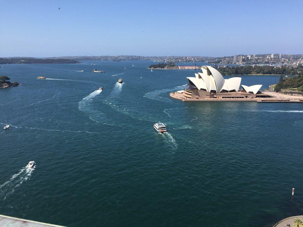Indiscutivelmente a Opera House é o mais famoso atrativo turístico de Sydney e um símbolo da Austrália