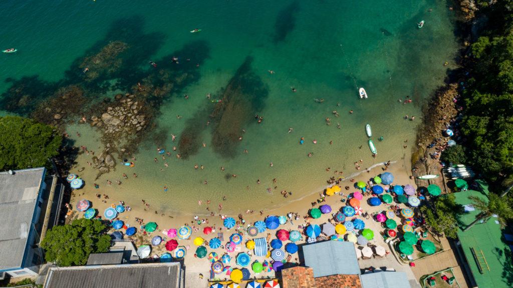 Praia da Sepultura na lista das praias de Bombinhas