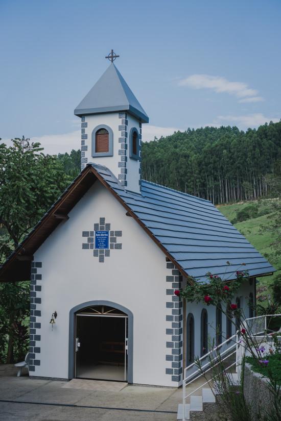 Em São Martinho também há parte do roteiro religioso de Santa Catarina