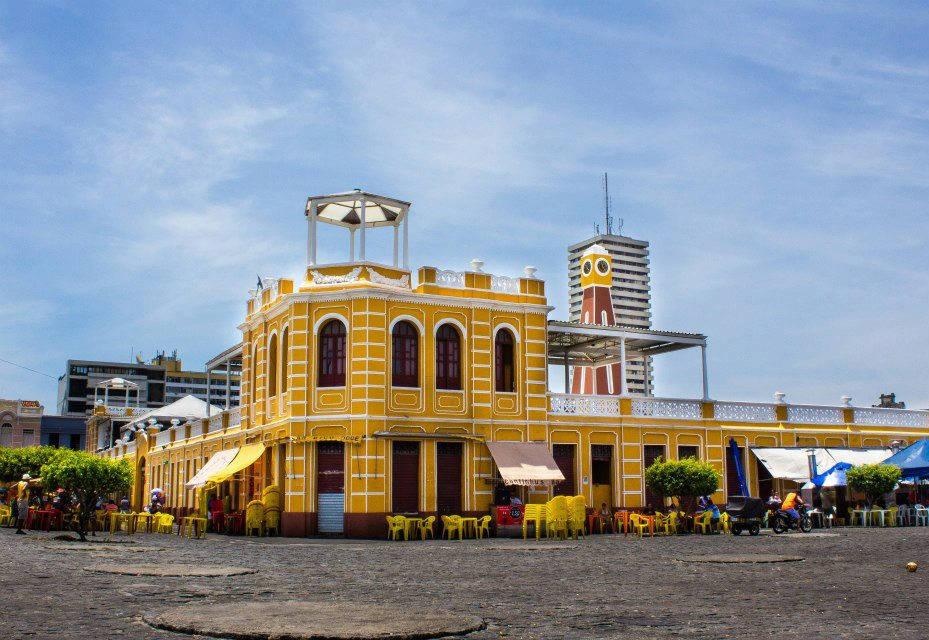 O Mercado Municipal é sempre uma atração nas cidades.