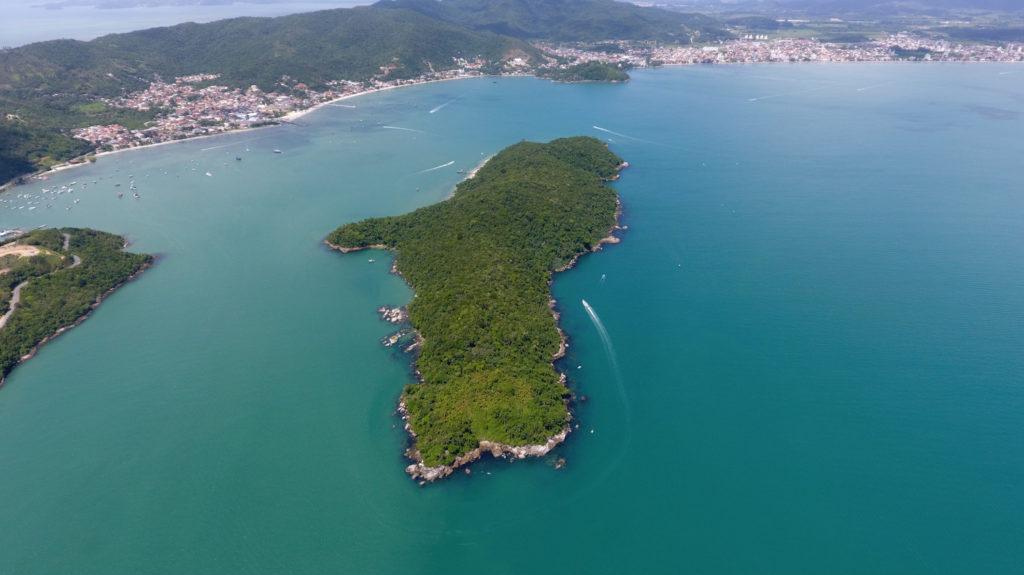 A Ilha de Porto Belo é um dos grandes atrativos da cidade
