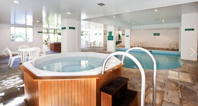 O Caldas de Imperatriz tem como diferenciais as fontes termais e por isso se destaca entre os melhores hotéis de SC