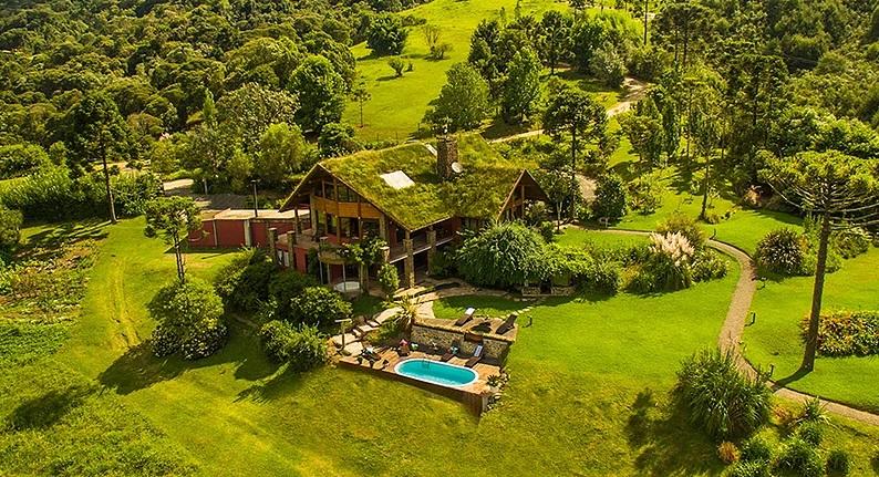 Direto da Serra, o Hotel Curucaca também está na lista de quais os melhores hotéis de SC