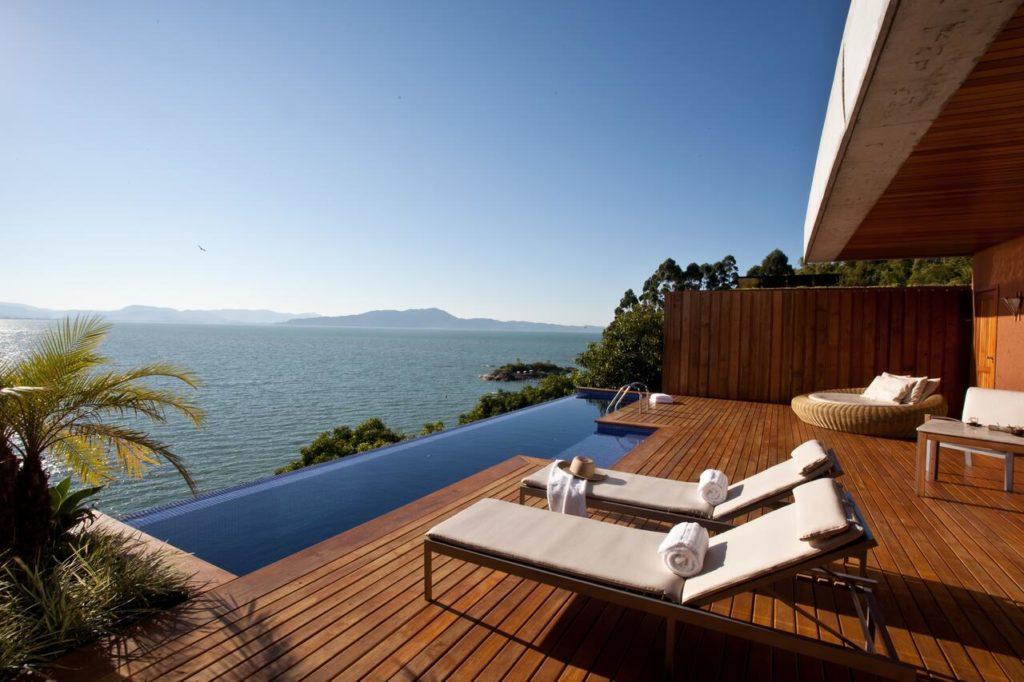 O Ponta dos Ganchos Resort abre a lista de melhores hotéis de SC