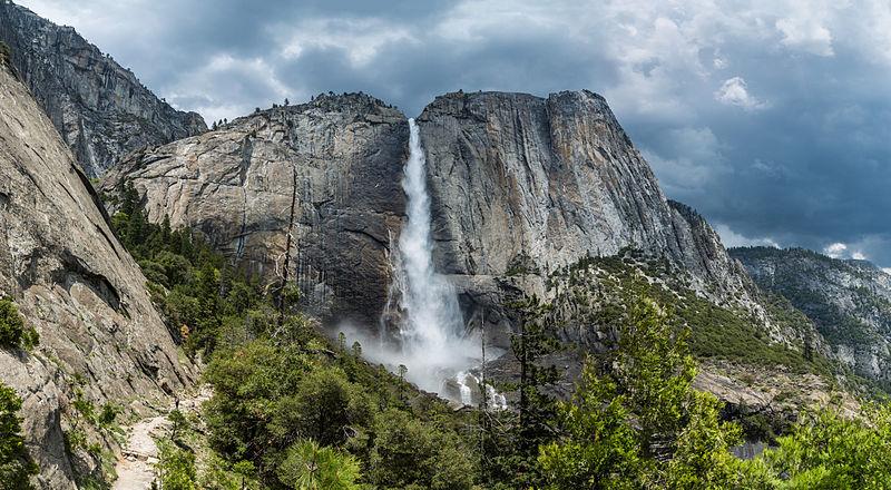 O representante norte-americano na lista de quais as maiores cataratas do mundo é Yosemite