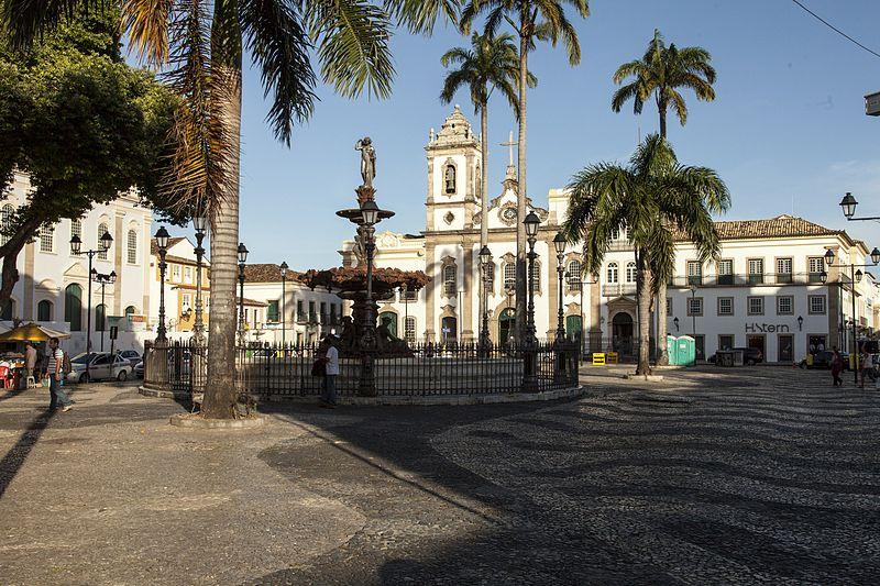 Neste trecho do Pelourinho começou o desenvolvimento de Salvador e da Bahia