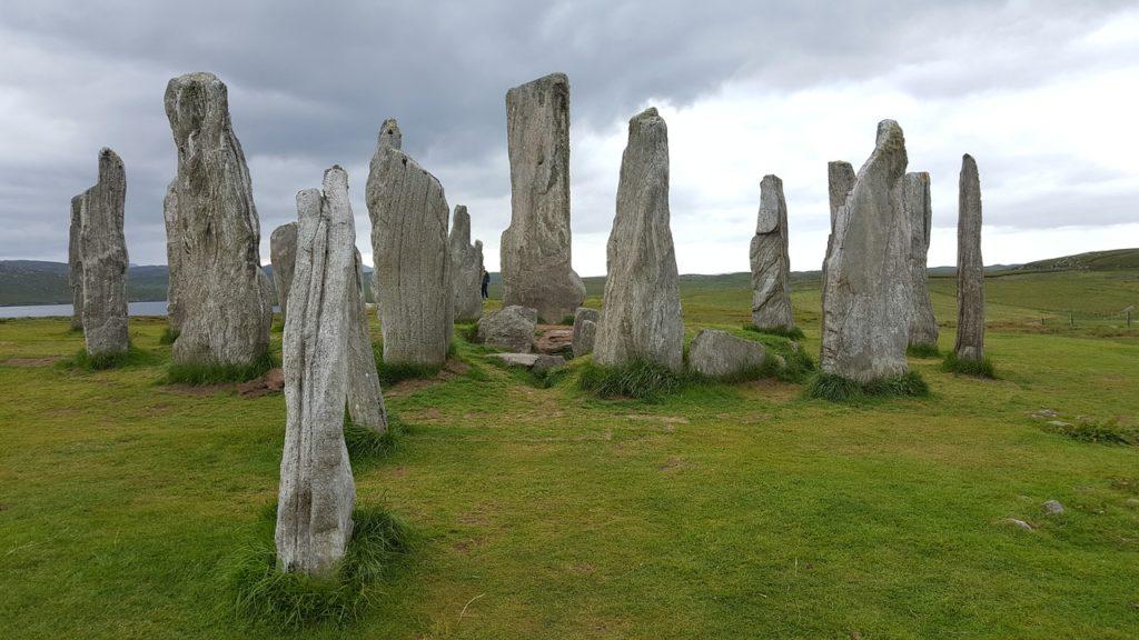 As pedras do Período Neolítico são destaque nas Hébridas, na Escócia