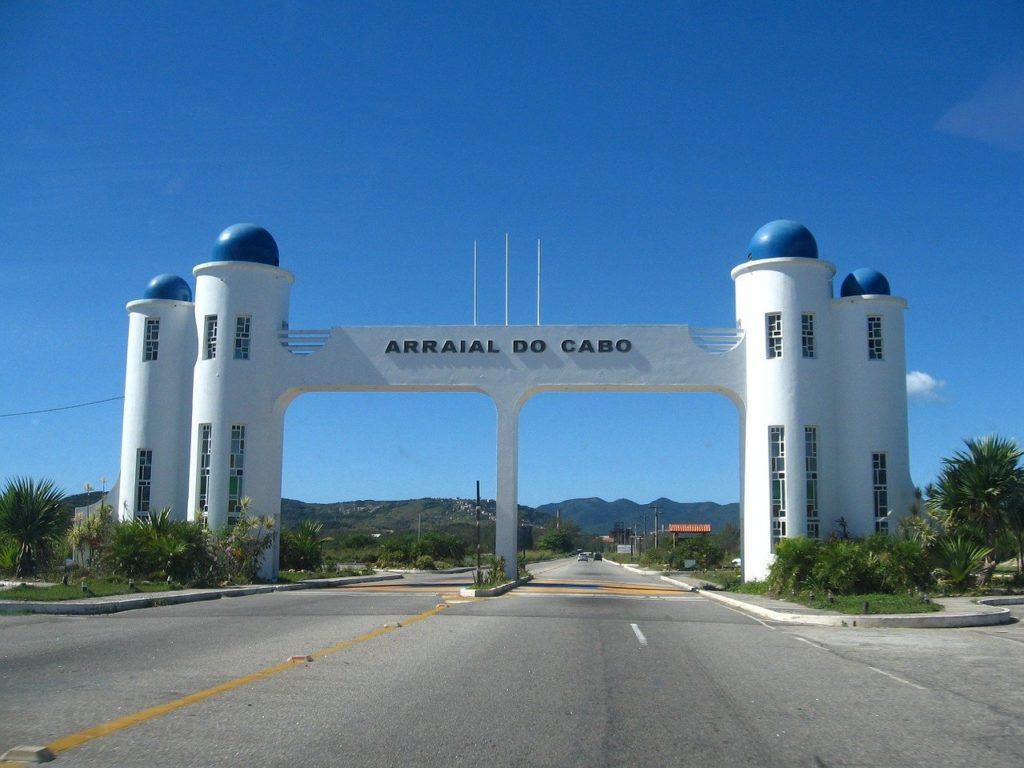 Entre os atrativos históricos está o centrinho de Arraial do Cabo