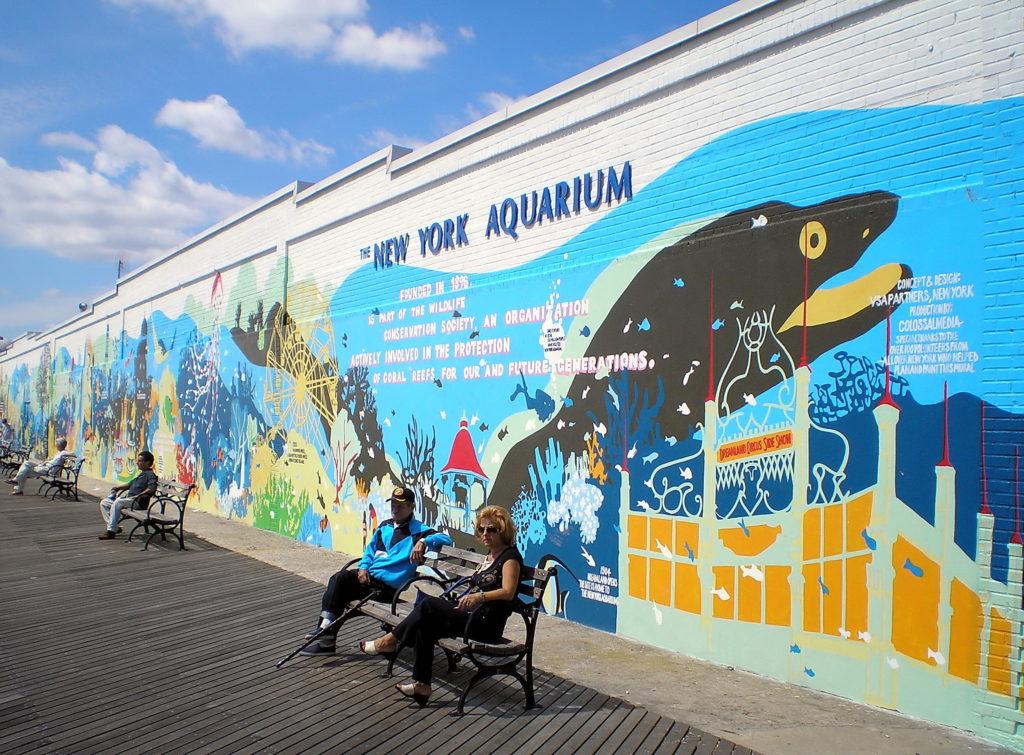 Com foco na preservação das espécies, o New York Aquarium está entre as coisas para se fazer em Coney Island