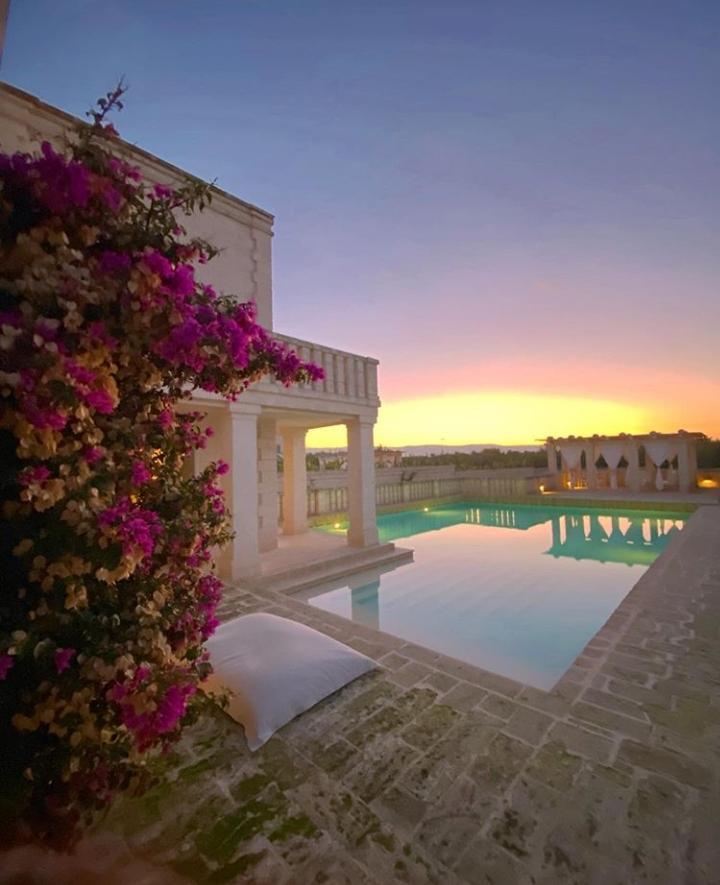 Em cada ponto um vista diferente nos resorts italianos