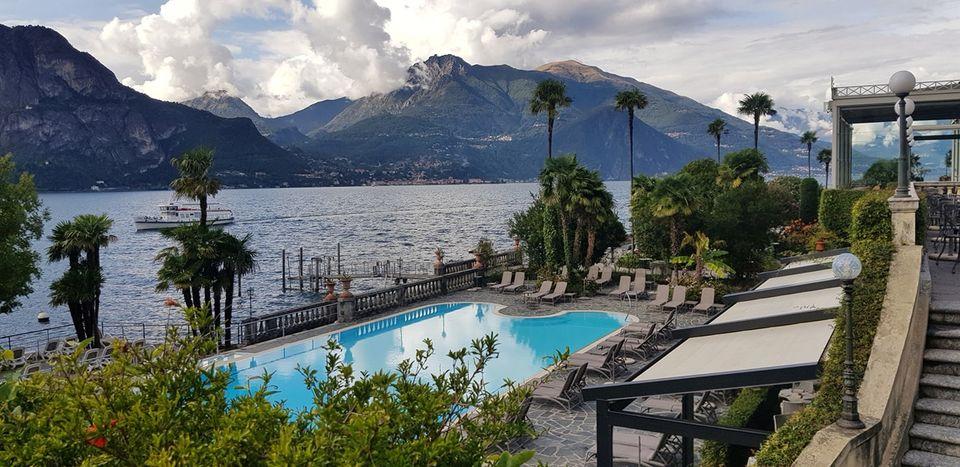 Quer vista melhor do que essa? Os melhores resorts da Itália possuem muito mais