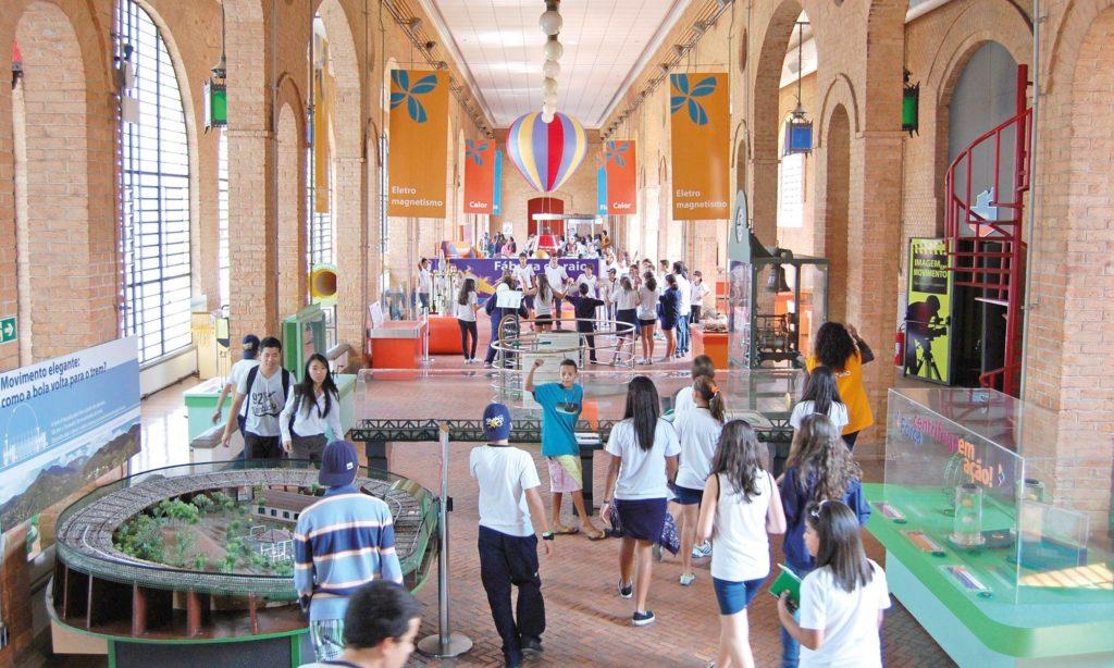 A ciência é divertida e ensina no Museu do Catavento. Ele está na lista de visita virtual nos museus de São Paulo